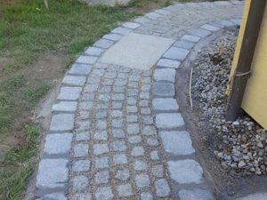 Pflasterverlag - Verlegung von Kleinpflastersteinen aus Granit in Linz-Urfahr