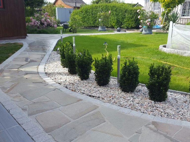 Pflasterverlag - Gartendesign mit Natur- oder Kunststeinen