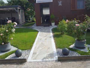 Pflasterverlag - Gartengestaltung mit Pflastersteinen und Natursteinplatten